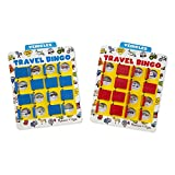 Melissa & Doug Flip to Win Travel Bingo Game - 2 Wooden Game Boards, 4...