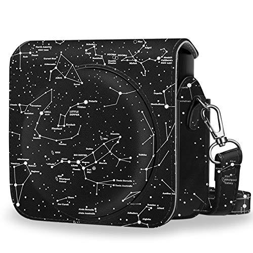 Fintie Tasche für Fujifilm Instax SQ 6 EX D Sofortbildkamera - Premium Schutzhülle Reise Kameratasche Hülle Abdeckung mit abnehmbaren Riemen,Sternbild