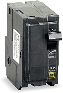 1- SQUARE D BY SCHNEIDER ELECTRIC QO280 CIRCUIT BREAKER, THERMAL MAGNETIC, 2P, 80A