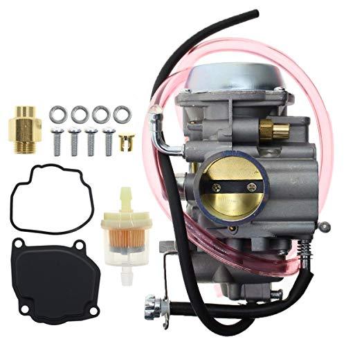 AUTOKAY Carburetor with Fuel Filter for Suzuki Quadrunner 500 LT-F500F LTF500 4x4 1998-2002