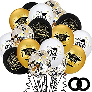graduation balloon decorations
