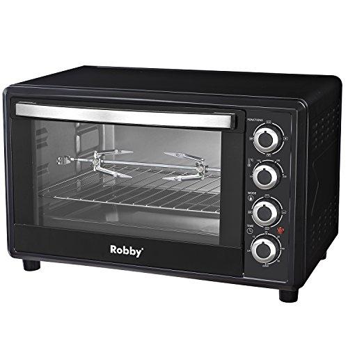 Robby - oven 45l - Four multifonction chaleur tournante 45l 2000w noir