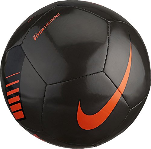 Nike Unisex Erwachsene NK Ptch Train Ball, Schwarz (Metallic Black/Total Orange/008), Gr. 4