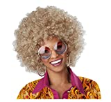 California Costumes Dirty Blonde Afro Wig Standard