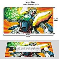 機動戦士ガンダム マウスパッド 光学マウス対応 パソコン 周辺機器 超大型 防水 洗える 滑り止め 高級感 耐久性が良い 40*75cm