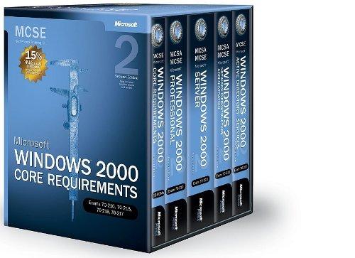 Microsoft Windows 2000 Core Requirements - MCSE Self-Paced Training Kit - Ed. 2 - manuel d'auto-apprentissage