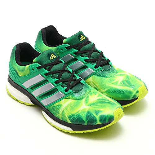 adidas Response Boost Techfit LTD Marvel Edition grün Laufschuhe Jogging (47 EU)