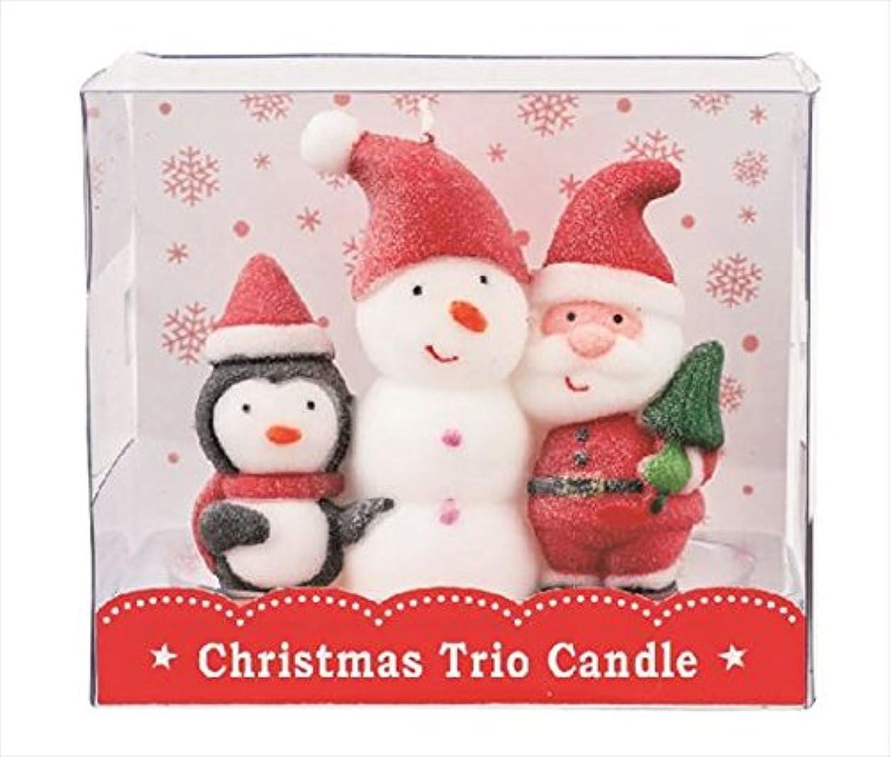 オーロック軽く正しいカメヤマキャンドル(kameyama candle) クリスマストリオキャンドル 「 スノーマン 」