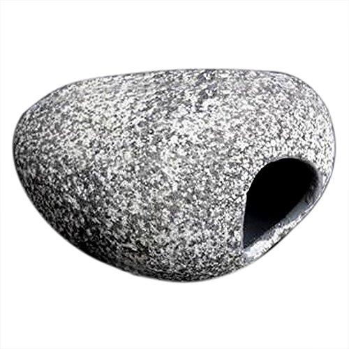 Forfar Steinkeramische Felsenhöhle Cichlid Aquarium Cichlid Stone Aquarium Fischteich Ornament Dekoration Shrimp Zucht