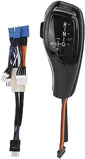 Akozon Schaltknauf Elektrische Linkslenker Automatische LED Kopfschaltung Nachrüstsatz Passend für E46 E60 E61 Refit für F30 Style(Glänzend schwarz)
