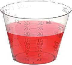 Uben Disposable Graduated Measuring Plastic Medicine Cups 1 Ounce (1000 Pack)
