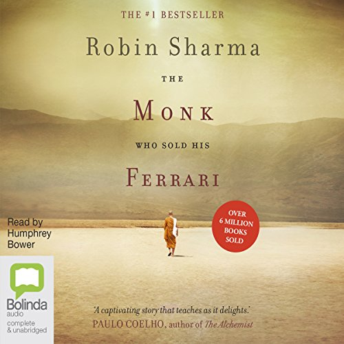 The Monk Who Sold His Ferrari audiobook cover art