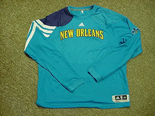 11-12 Long Sleeve New Orleans Hornets New Shooting Shirt