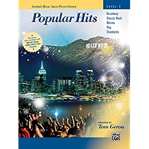 Alfred's Basic Adult Piano Course — Popular Hits, Bk 1 (Alfred's Basic Adult Piano Course – Level 1)