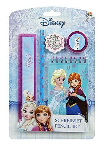 Undercover FRSW0211 - Schreibset, Disney Frozen, 5 teilig