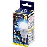 アイリスオーヤマ LED電球 口金直径17mm 広配光 60W形相当 昼白色 密閉器具対応 LDA7N-G-E17-6T6