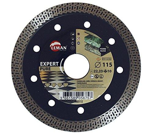 Leman 980115 Disco diamante para porcelánico extra fino (diámetro 115 mm)