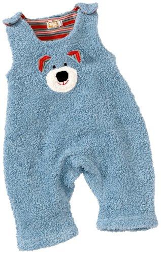 Lana Bas à Bretelles pour bébé Unisexe Motif Ourson 96 1750 5049 - Bleu - 74 cm/82 cm