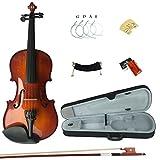 Esound 4/4 3/4 1/2 1/4 1/8 Massivholz Schüler Akustische Violine Geige Anlasser Ausrüstung in Voller Größe (1/16-size)