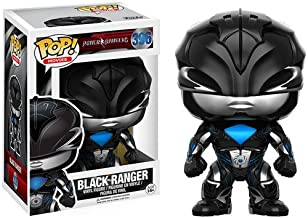 Funko POP Movies: Power Rangers Black Ranger Toy Figure