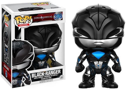 Funko- Black Ranger Figura de Vinilo, Multicolor (12342)