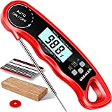 GDEALER DT09 Waterproof Digital Instant Read Meat Thermometer with...