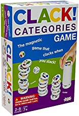AMIGO Clack! Categories, Kids Magnetic Stacking Game for Ages 7+