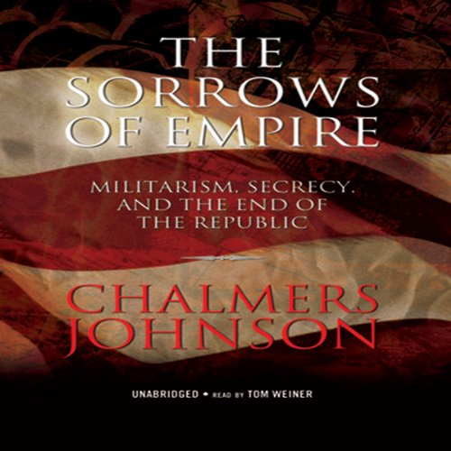 The Sorrows of Empire audiobook cover art