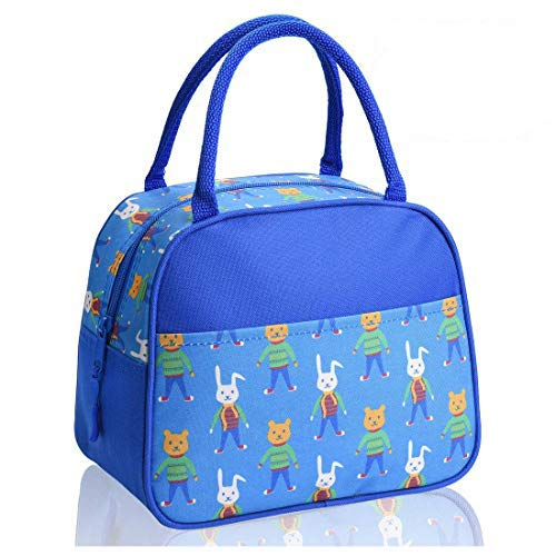 Lunch Box Lunch Boxes for Kids Insulated Lunch Bag Great Gift for Kids (Blue)