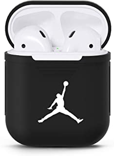 Airpods Case Protective Silicone Cover, Vulpecula Protective Airpods Accessories Case Skin Compatible with Apple AirPods 2 and 1