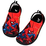 Joah Store Spiderman Boys Water Shoes Swim Aqua Beach Shoes Runs...