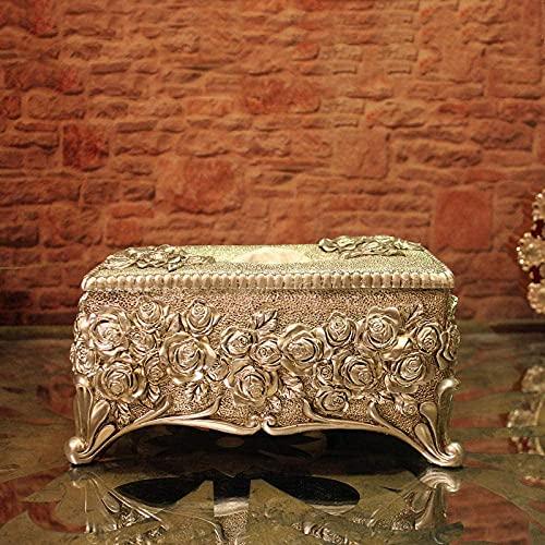 Caja de pañuelos titular estatua cabeza escultura decoración hogar papel tejido cajón caja decoración hogar decoración resina artesanía restaurante creativo regalo