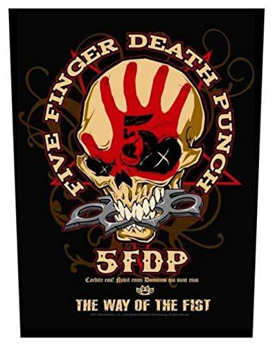 Five Finger Death Punch Way Of The puño espalda parche