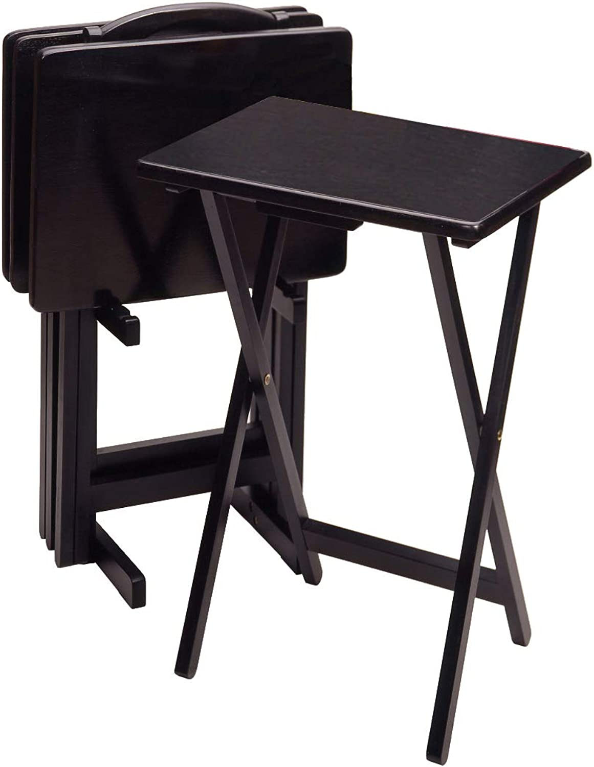 Winsome Wood 22520 Alex Snack Table, Black