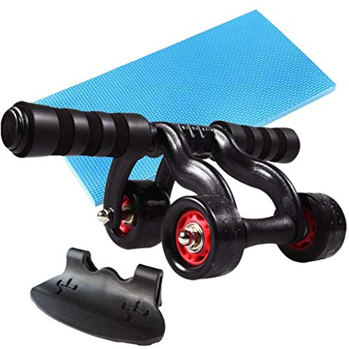 KKCD Rueda Abdominal Abdominal Wheel AB Roller -Trainer Fitness Equipment Gimnasio Ejercicio Hombres Body Building