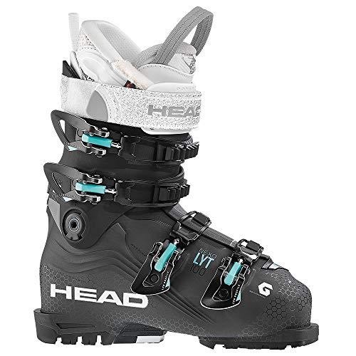 HEAD - Chaussures De Ski Nexo LYT 100 W Anthracite-Black Femme - Femme - Taille 37 - Gris