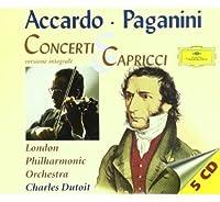 Capricci N. 1-24/Conc. Vl.Accardo/Dutoit/Lpo
