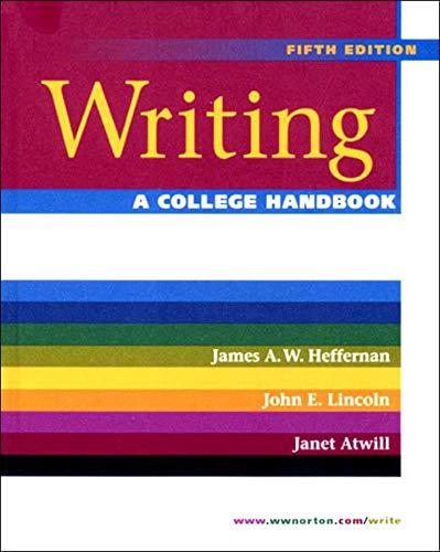 Writing: A College Handbook (Fifth Edition)