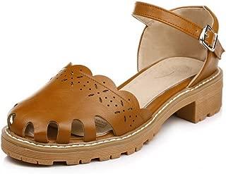 BalaMasa Womens ASL06888 Pu Platform Heels