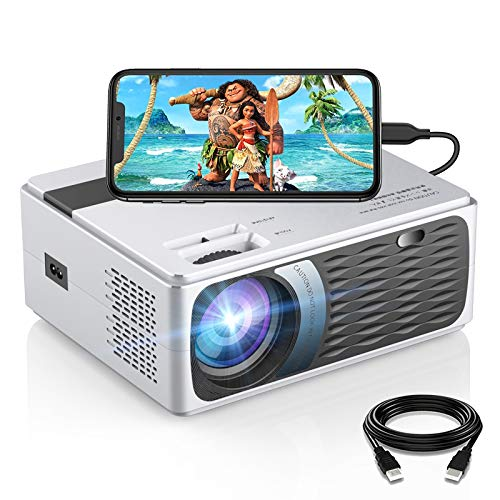 200 ANSI Lumen Movie Projector, SAMMIX 1080P and 200