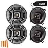 Polk Audio - Two Pairs of DB522 5.25' Coaxial Speakers - Marine and Powersports Certification