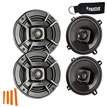 Polk Audio - Two Pairs of DB522 5.25  Coaxial Speakers - Marine and Powersports Certification