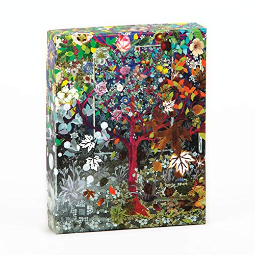 Christian Lacroix Heritage Collection Les 4 Saisons Boxed Notecards, '4 7/8' x 6 1/8' x 1 1/8': Four Seasons Notecard Box