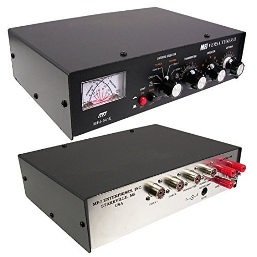 MFJ 941E Versa Tuner II - 300 watt handmatige HF antenne-tuner 1.8-30 MHz door MFJ Enterprise