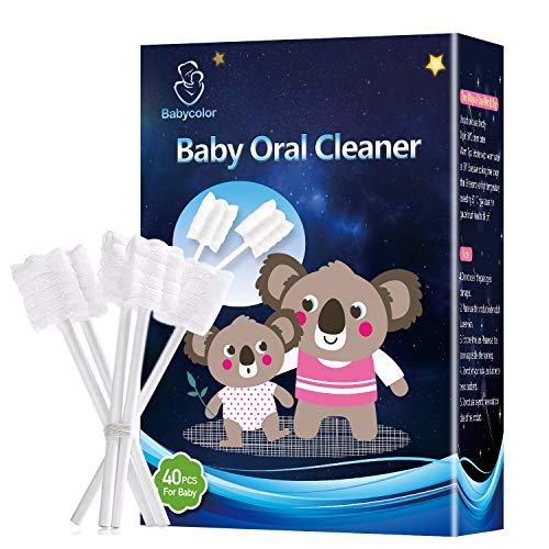 Baby Toothbrush,Infant Toothbrush,Baby Tongue Cleaner,Infant Toothbrush,Baby Tongue Cleaner Newborn,Toothbrush Tongue Cleaner Dental Care for 0-36 Month Baby,36 Pcs + Free 4 Pcs