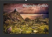 Magische Gefilde (Wandkalender 2022 DIN A2 quer): Fantasy - Landschaften, die Sie verzaubern werden (Monatskalender, 14 Seiten )