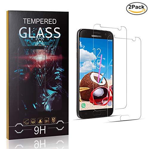 Anti-ara/ñazos Anti-despegamientos SONWO Protector de Pantalla para Samsung Galaxy A20E 2 Pack Galaxy A20E Cristal Vidrio Templado Templada Anti-Burbujas