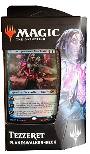 Hauptset 2019 - Planeswalker Deck deutsch - MTG Magic The Gathering, Deck:Tezzeret