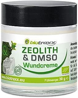 Biotraxx Zeolite DMSO Sore - Crema con 13 potentes hierbas. 30g. Fabricado en Alemania