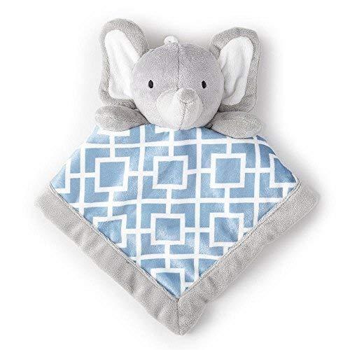 Levtex Home Baby Grey Elephant Security Blanket